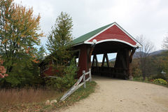 Covered Bridge New Hampshire Stock Photo