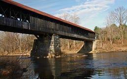 Covered bridge in New Hampsire Stock Photography