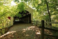 Covered bridge. Old covered bridge in Indiana Stock Image