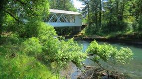 Covered Bridge - Oregon Royalty Free Stock Photos