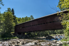 Covered bridge Royalty Free Stock Photography