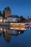 Covered bridge, Strasbourg Royalty Free Stock Images