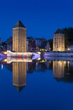 Covered bridge, Strasbourg Royalty Free Stock Photos