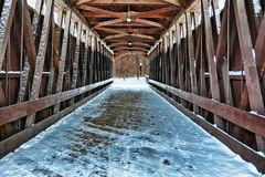 Covered Bridge 2 Stock Photo