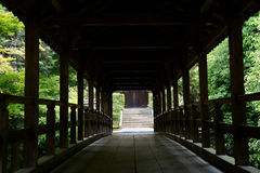 Covered bridge of Tofukuji Stock Photos