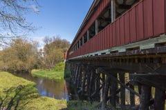 Covered Bridge Trail Stock Photos