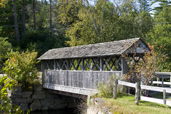 Covered bridge in Vermont Stock Photography