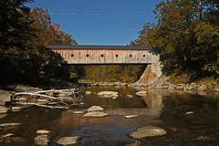 Covered Bridge Vermont Royalty Free Stock Photos