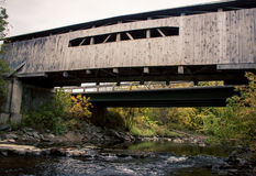 Covered bridge Vermont Royalty Free Stock Images