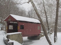 Covered Bridge. You do not find many of these around anymore, But they are so beautiful Stock Images