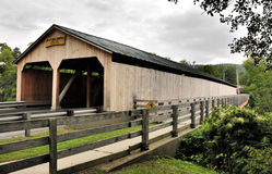 Covered Bridges of Vermont Stock Images