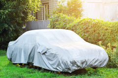 Covered car Stock Photography