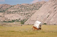 Covered Handcart stock image