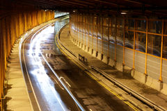 Covered highway Stock Images