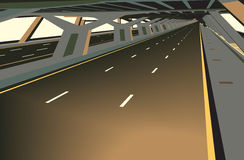 Covered highway Royalty Free Stock Photos