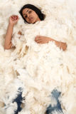 Covered In Feathers Stock Photography