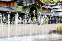 Covered Market building, Montreux Stock Photo