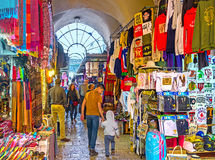 The covered market Royalty Free Stock Photography