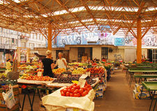 Covered Market in Sarajevo Stock Photos