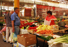 Covered Market in Sarajevo Royalty Free Stock Images