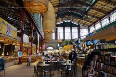 The covered Mercato Centrale (Central Market) in Florence, Italy Stock Photo