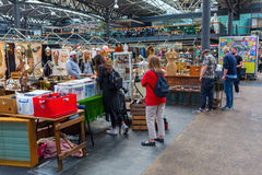 Covered Old Spitalfields Market in London, UK Royalty Free Stock Photo