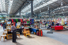 Covered Old Spitalfields Market in London, UK royalty free stock images