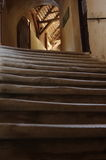 Covered old stairs Royalty Free Stock Photo