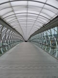 Covered Overpass at Boeing Flight Museum Royalty Free Stock Images