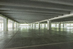 Covered parking lot Stock Photos