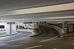 Covered Parking at the SFO Airport. Covered parking at the San Francisco airport royalty free stock photos
