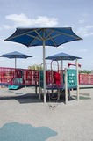Covered playground Royalty Free Stock Image