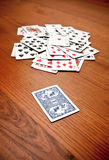 Covered playing card Stock Image
