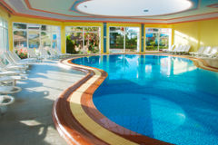 Covered pool Stock Photography
