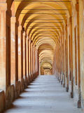 Covered Portico In Bologna Royalty Free Stock Images