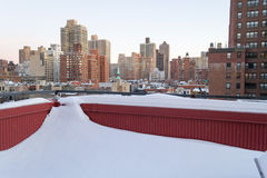 Covered with snow Royalty Free Stock Photography