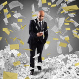 Covered by spam Royalty Free Stock Images