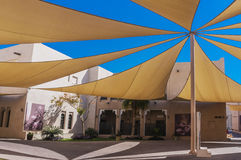 Covered street in Katara Cultural Village in Doha, Qatar Royalty Free Stock Image