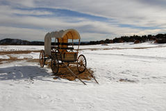 Covered wagon Royalty Free Stock Photography