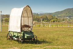 Covered wagon Royalty Free Stock Photos