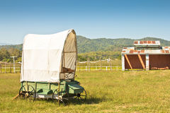Covered wagon Stock Image