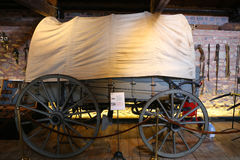 The covered wagon Stock Photo