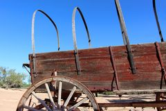 Covered Wagon Stock Photography