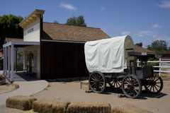 Covered Wagon - San Diego Royalty Free Stock Image