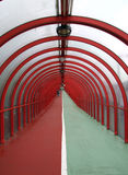 Covered walkway 01 Royalty Free Stock Photos