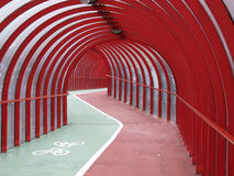 Covered walkway 03 Royalty Free Stock Photo