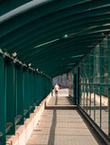 Covered Walkway Stock Images