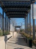 Covered Walkway Stock Image