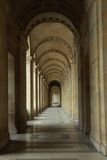 Covered walkway in Paris Stock Photos