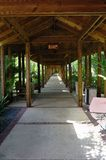 Covered Walkway Stock Photography